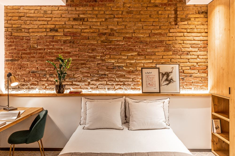 Dormitorio del nuevo proyecto de  Coblonal Interiorismo.