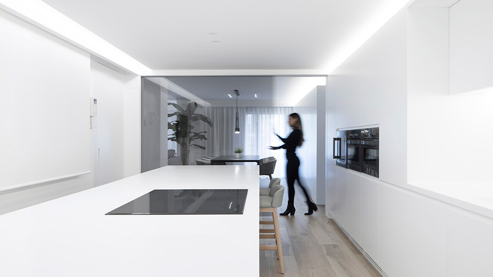 Vivienda GC, reforma integral y diseño de interior en el centro histórico de Valencia por onside - cocina