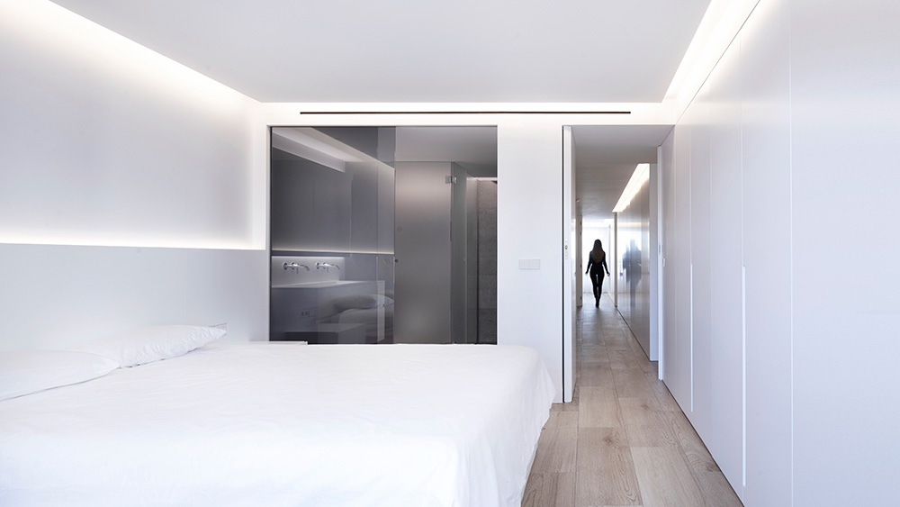 Vivienda GC, reforma integral y diseño de interior en el centro histórico de Valencia por onside - dormitorio