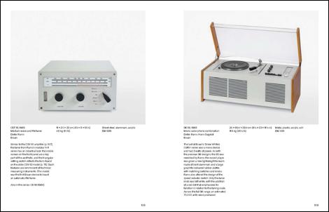 Interior del libro 'Dieter Rams: The Complete Works', por Klaus Klemp con prólogo de Dieter Rams