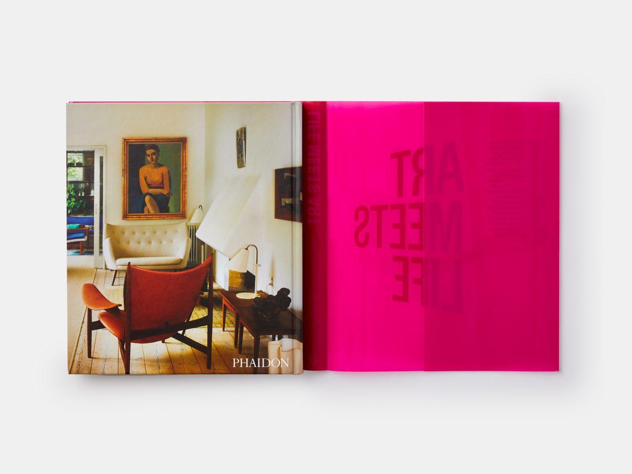 Imagen de la portada y contraportada del libro Life meets art