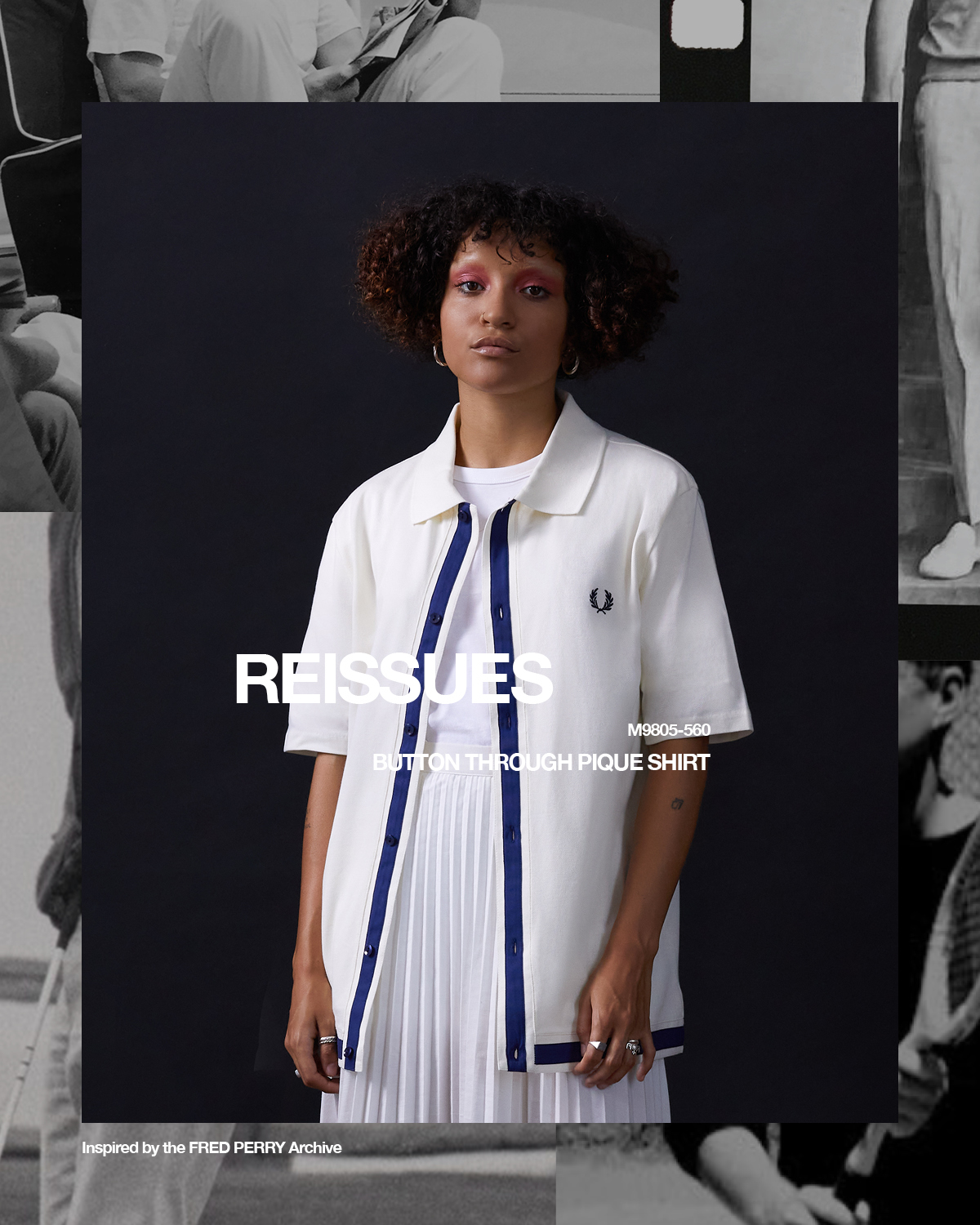 Fred Perry, REISSUES